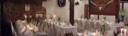 Romantische Scheune